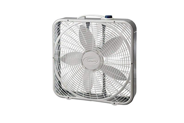Portable box fan