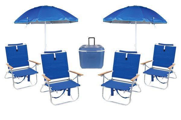 Beach gear rental package