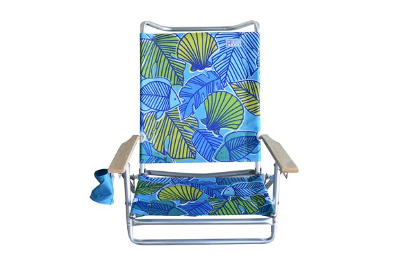 Multi position beach chair